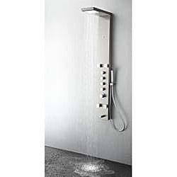 Fresca Verona Silver Thermostatic Shower Massage Panel