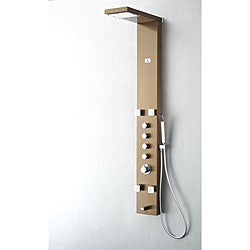 Fresca Verona Bronze Thermostatic Shower Massage Panel