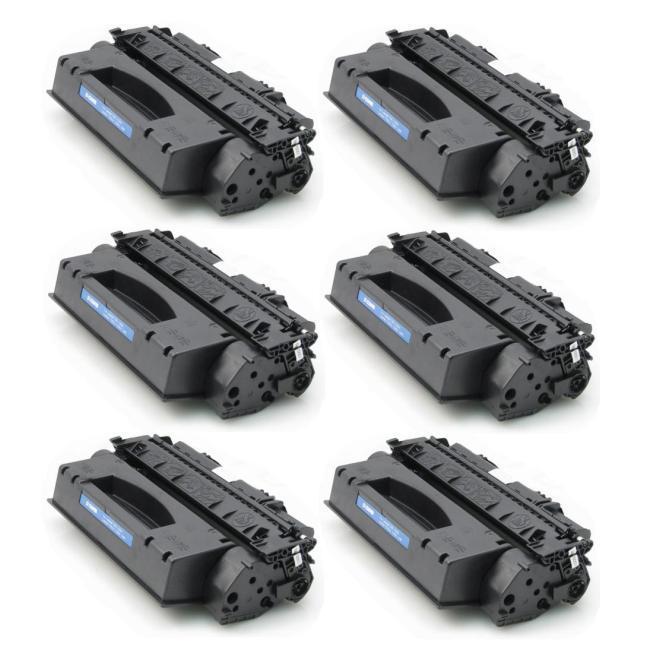 HP Q5949X Remanufactured Black Toner (Pack of 6)