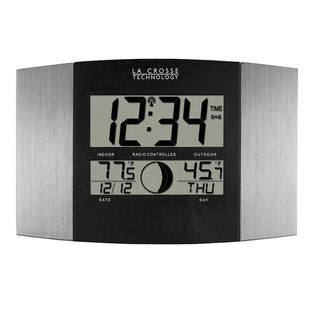 La Crosse Atomic Digital Indoor Wall Clock