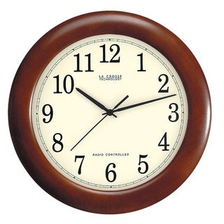 LC 12.5-inch Atomic Analog Clock