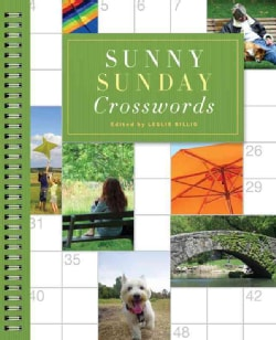 Sunny Sunday Crosswords (Spiral bound)