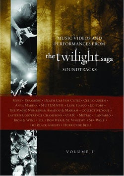 Music Videos And Performances From The Twilight Saga Soundtrack Vol 1 (DVD)
