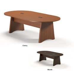 Mayline Brighton 8-foot Laminate Conference Table