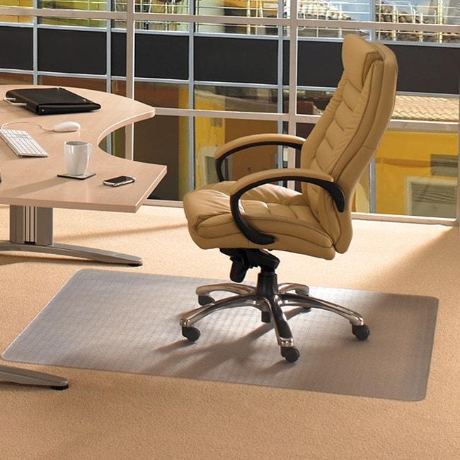 Floortex Cleartex Advantagemat Clear Pvc Chair Mat (45 X 53) For Carpet