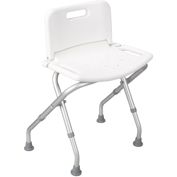 Deluxe Folding Bath Bench with Backrest