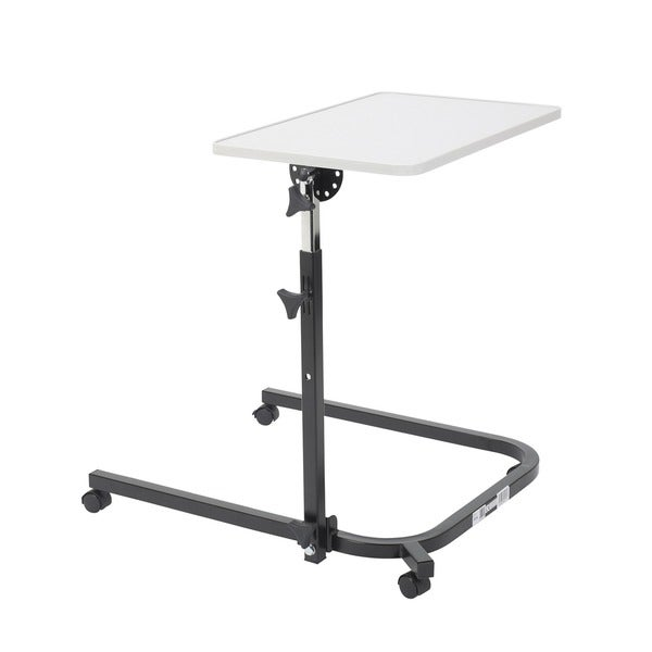 Drive Medical Pivot and Tilt Adjustable Overbed Table Tray