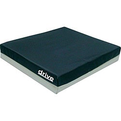 Drive Deluxe 18-inch Skin Protection Gel E 3 Wheelchair Seat Cushion