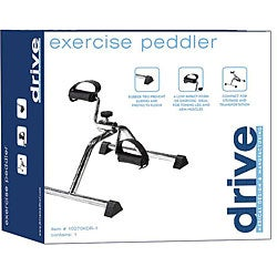 Drive Aluminum Silver Vein Finish Exercise Peddler