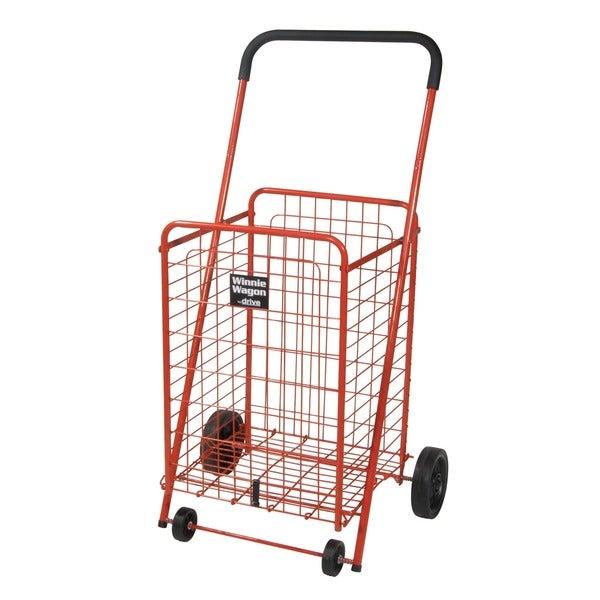 Red Winnie Wagon All Purpose Shopping Utility Cart