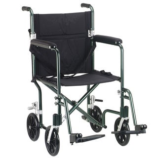 Flyweight 19 Lightweight Aluminum Transport Wheelchair