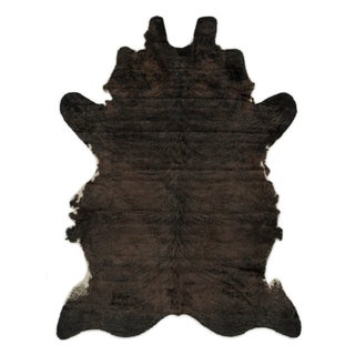 Rawhide Brown Animal-print Rug (6'2 x 8')