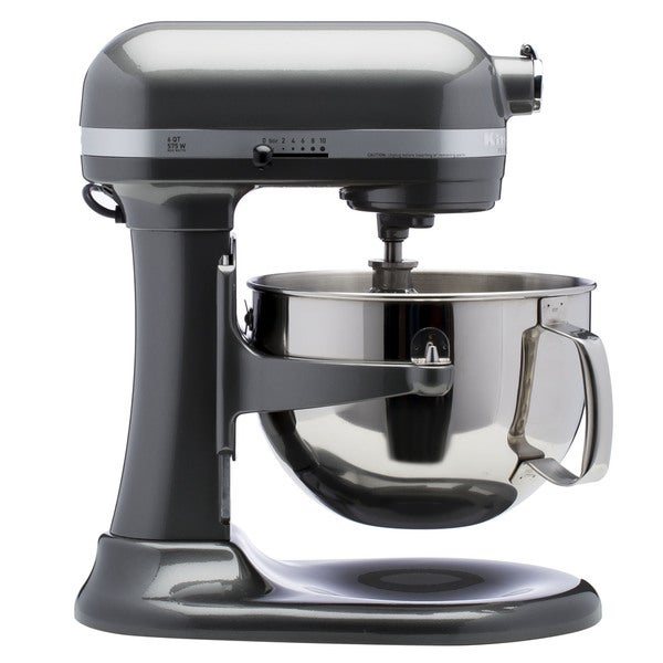 Kitchenaid rkp26m1xpm pearl metallic 6 quart pro 600 bowl lift stand mixer refurbished - Copper pearl kitchenaid mixer ...