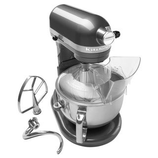 KitchenAid RKP26M1XPM Pearl Metallic 6-quart Pro 600 Bowl-Lift Stand Mixer (Refurbished)