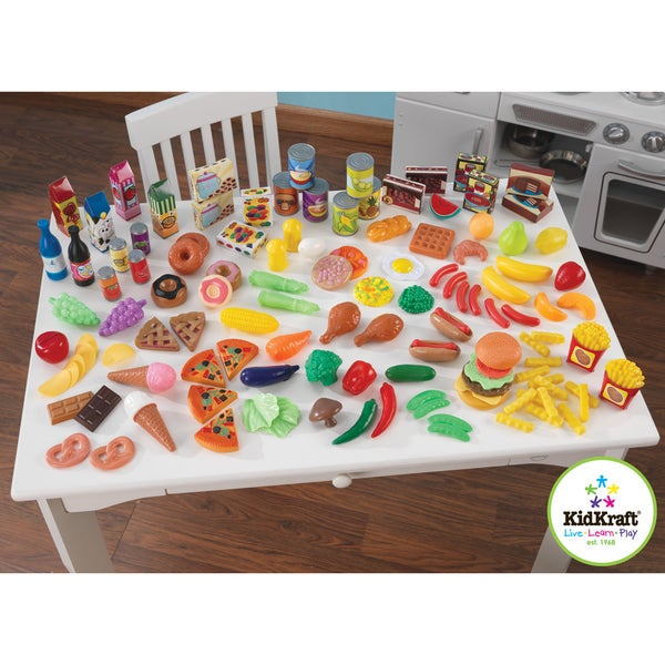 KidKraft Perfect Pantry 125-piece Food Set
