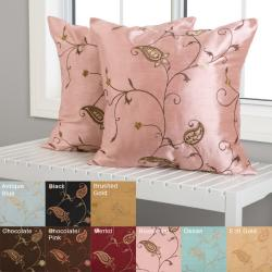 Jakarta 18-inch Decorative Pillows (Set of 2)
