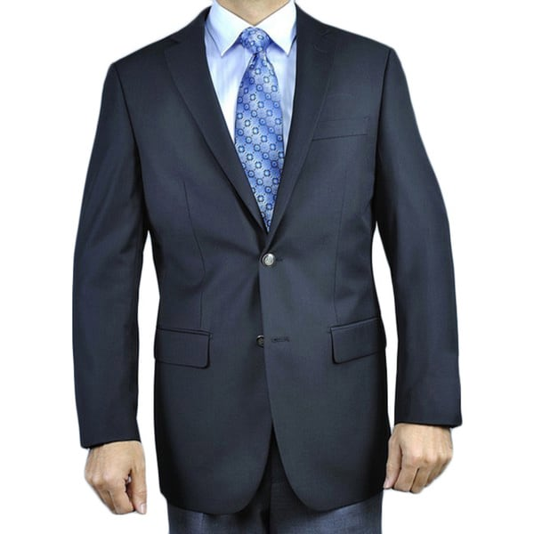 Men's Black 2-button Blazer