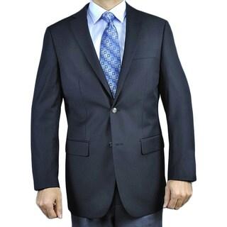Men's Black 2-button Blazer
