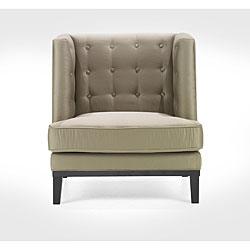 Modern Champagne Fabric Chair