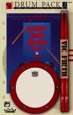 Alfred's Drum Method, Book 1: Beginning Drum Pack (Paperback)