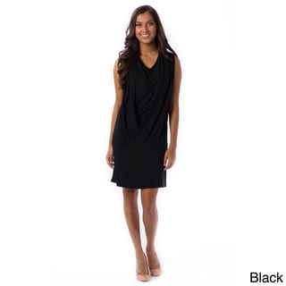 AtoZ Women's Drop-waist Mini Dress