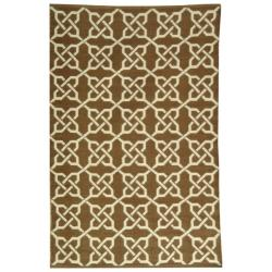 Handmade Thom Filicia Tioga Saddle Indoor/ Outdoor Rug (4' x 6')