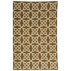 Handmade Thom Filicia Tioga Saddle Indoor/ Outdoor Rug (5' x 8')