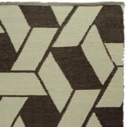 Handmade Thom Filicia Durston Saddle Outdoor Rug (5' x 8')