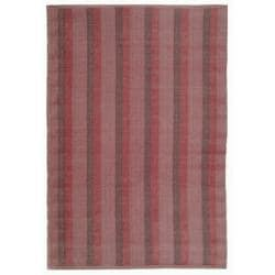 Handmade Thom Filicia Danforth Indian Red Outdoor Rug (5' x 8')
