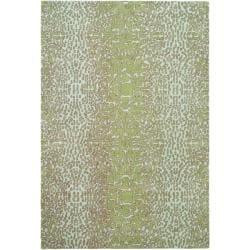 Handmade Thom Filicia Senica Mulberry N.Z. Wool Rug (8' x 10')