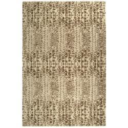 Handmade Thom Filicia Solar Limestone N.Z. Wool Rug (8' x 10')