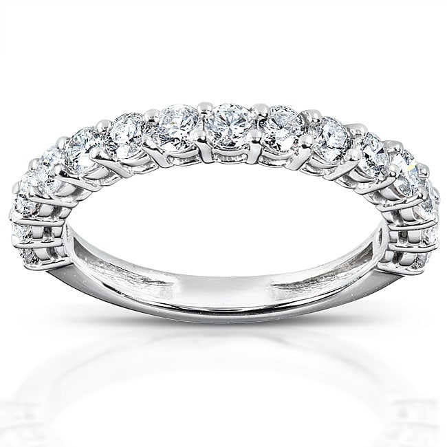 Annello 14k White Gold 1ct TDW Diamond Wedding Band (H-I, I1-I2) at Sears.com
