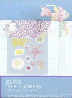 Sea Flowers Mix & Match Stationery (Cards)