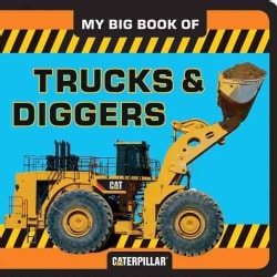 My Big Book of Trucks and Diggers (Board book)
