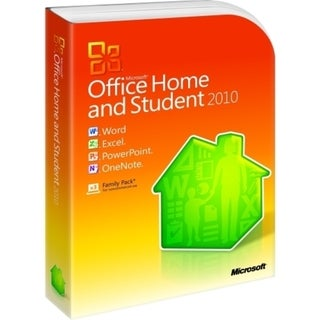 Microsoft Office 2010 Home and Student - 32/64-bit - Complete Product