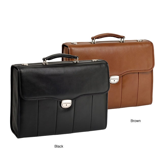 McKlein North Park Leather Executive 15.4-inch Laptop Briefcase