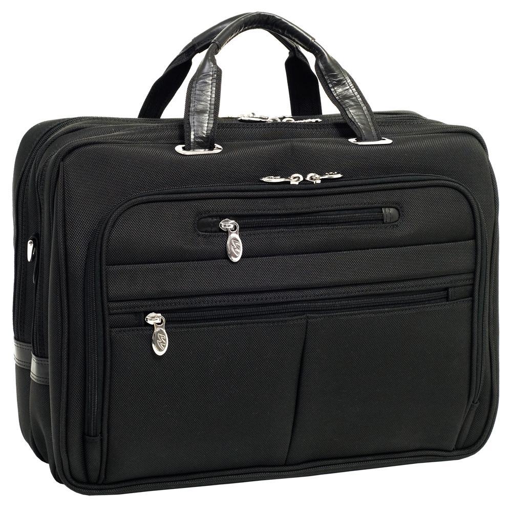 McKlein Rockford Nylon Fly-through Checkpoint-friendly Laptop Case