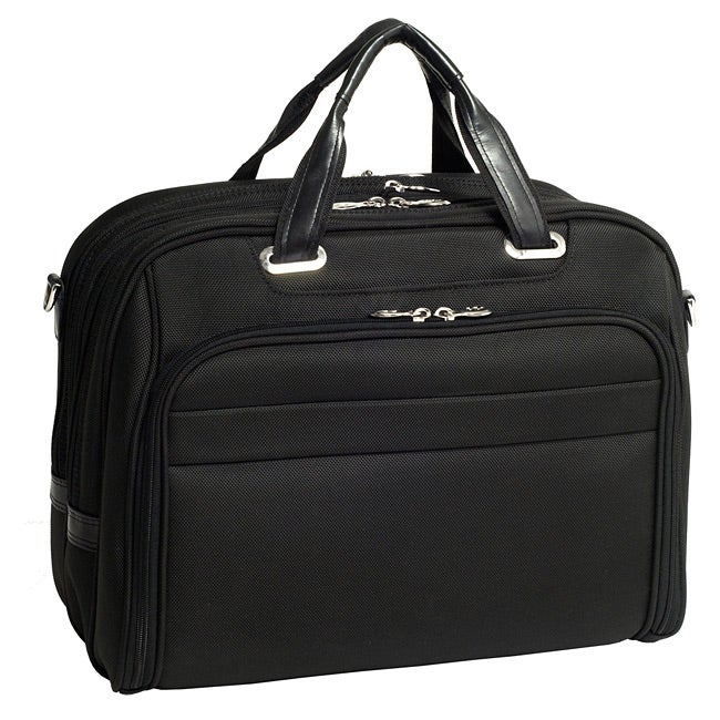 McKlein Springfield Nylon Checkpoint-friendly 17-inch Laptop Briefcase