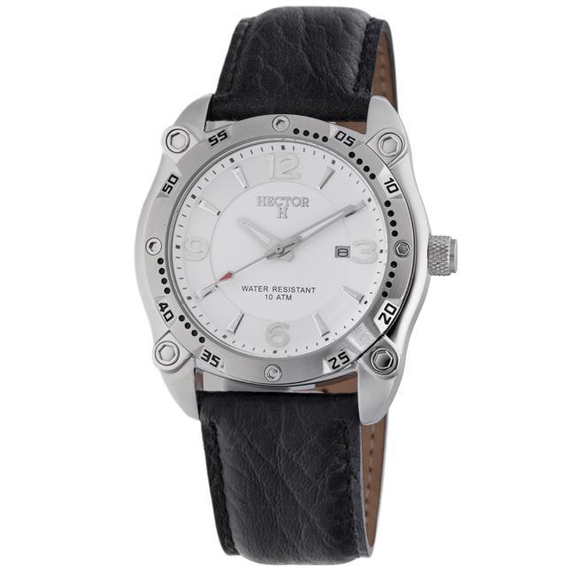 Hector H France Men's 'Fashion' Stainless Steel Quartz Watch