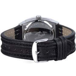 Hector France Men's 'Fashion' Leather Strap Watch