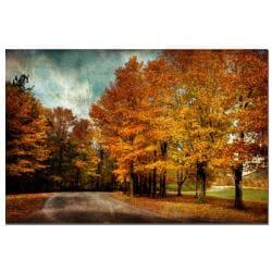 Lois Bryan 'Autumn Scene' Canvas Art