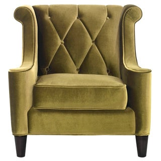 Modern Green Velvet Chair