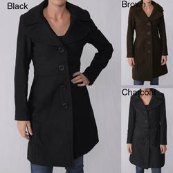 Ci Sono by Adi Junior's Wool Blend Walking Coat