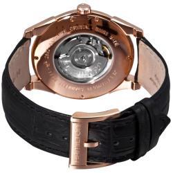 Hamilton Men's 'Jazzmaster Slim' Pink Goldtone Automatic Watch