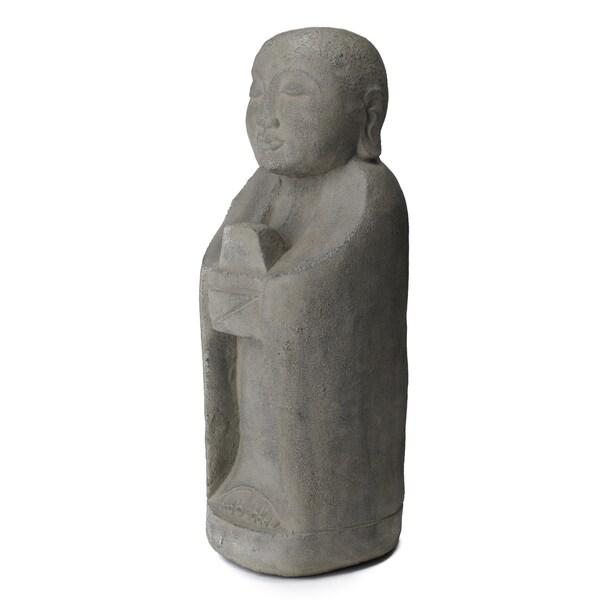 Ash and Cement Jizo Statue (Indonesia)