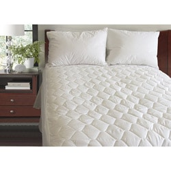 Anti-microbial 300 Thread Count Mattress Pad