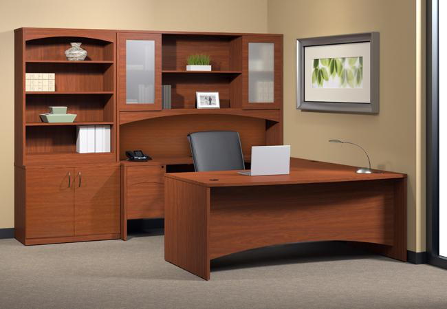Mayline Brighton Suite No. 7 Executive U Desk