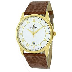 Le Chateau Men's 'Classica' Roman Numeral Watch
