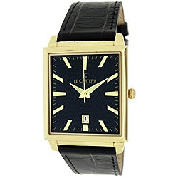 Le Chateau Classica Collection Men's Black Texture Dial