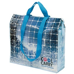 Traveler's Club EZ Clip-n-Shop Insulated Reuseable Shopper Bag (Case of 36)